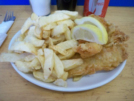 Lemon Sole & Chips