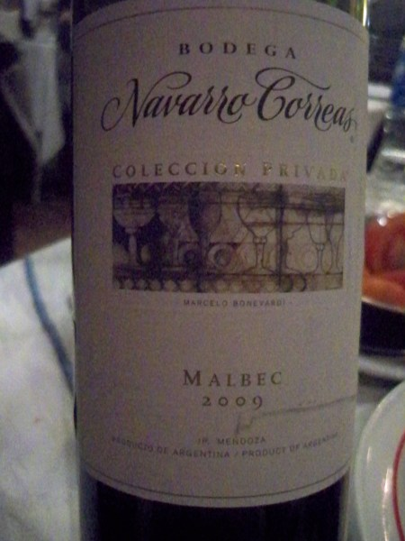 Navarra Correas Malbec