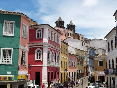 Pelourinho street