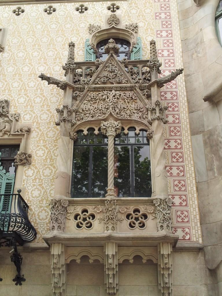 Amatller balcony