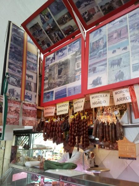Bull meat merchant