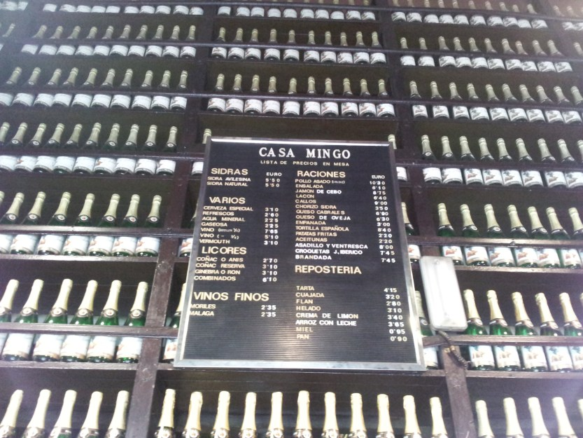 Cider stocks
