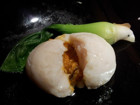 Fish maw in egg white