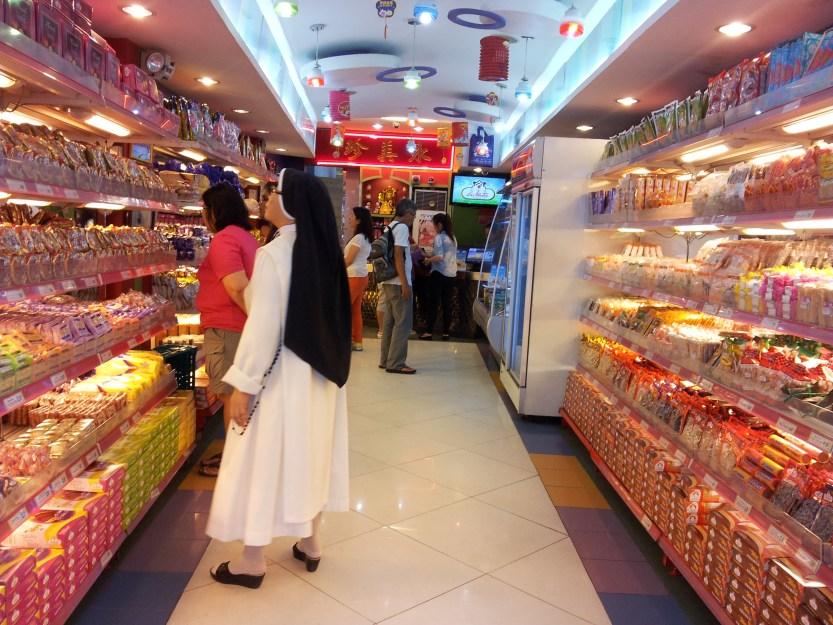 Nuns on the buns