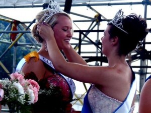 Taylor Rae Goodman, 18, of Curwensville was crowned the Clearfield County Fair Queen. (Photo by Jessica Shirey)