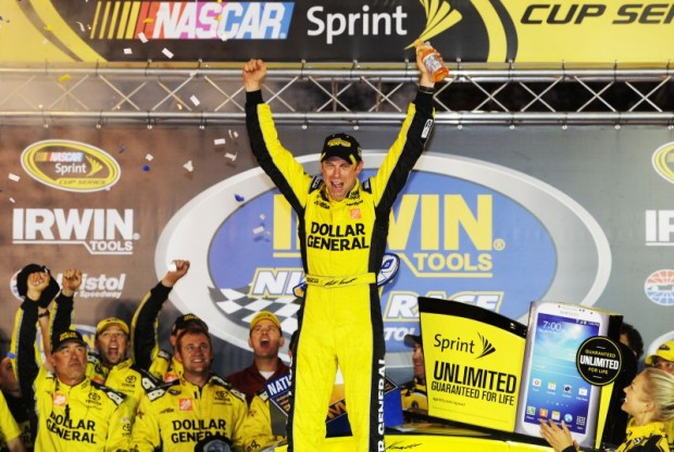 Another classic Bristol battle under the lights saw Matt Kenseth take the win for the fifth time this season.