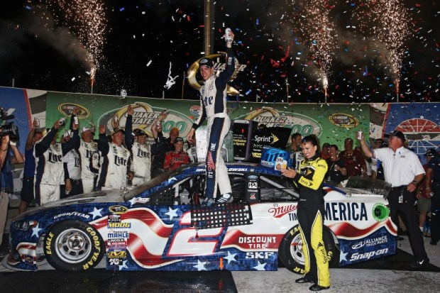 At probably the toughest 1.5-mile track on the circuit, no one could stop Brad Keselowski.