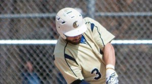 Clearfield grad Derek Danver is riding an8-game hitting streak for Clarion (Photo courtesy Clarion Athletics)