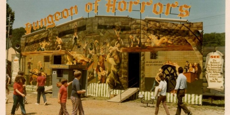 Throwback Thursday: Midway Shows Added Color to Clearfield County Fair