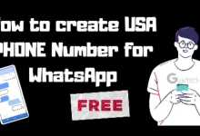 usa number for whatsapp, How to create USA number for Whatsapp For Free 2020