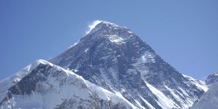 Mount Everest, the Earth's highest mountain, soars 29,029 feet.