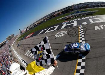 Jimmie Johnson won on Sunday, but the real win was the actual racing.