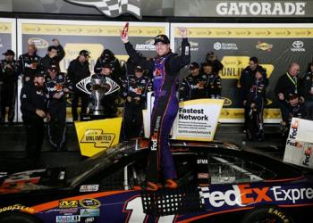 Welcome to the new season, with Denny Hamlin taking the first win of 2016.