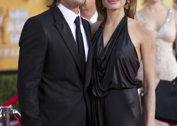 Angelina Jolie has filed for divorce from husband of two years Brad Pitt, a source familiar with the filing says.  File: Angelina Jolie and Brad Pitt at the SAG Awards in 2012.  Credit: WireImage.com for Turner Network Television