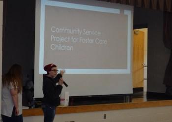 Shown in photo is Brynn McGarvey, member of SkillsUSA Community Service Team. (Provided photo)