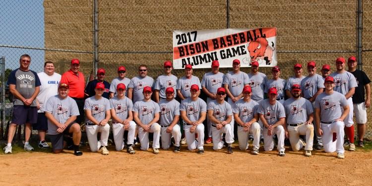 Alumni Baseball participants (Photo by Last Image Photo - Ryan Bender)