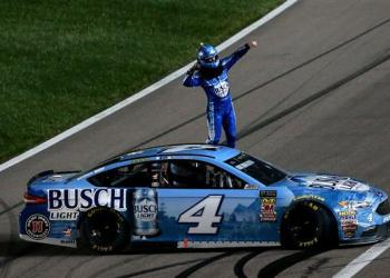 Same song, new verse, as Kevin Harvick still cannot be stopped thus far this season.