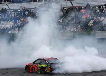 It was time for Truex to burn it down once again.  He's still got fight left in this title hunt.