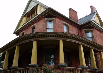"""Shown is the 1888 """"Byron Ely"""" home, currently owned by Wayne and Jane Bryndel, that is one of the stops on the tour. (Provided photo)"""