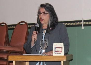 CRC President Lisa Kovalick (Photo by GANT News Editor Jessica Shirey)