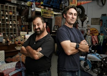 American Pickers Mike Wolfe and Frank Fritz (Provided photo)