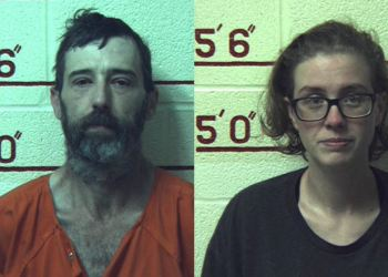 Pictured are Jackson Curtis Martin III, 44, and Amanda Nichelle Downs, 28, both of Clearfield. (Provided photos)