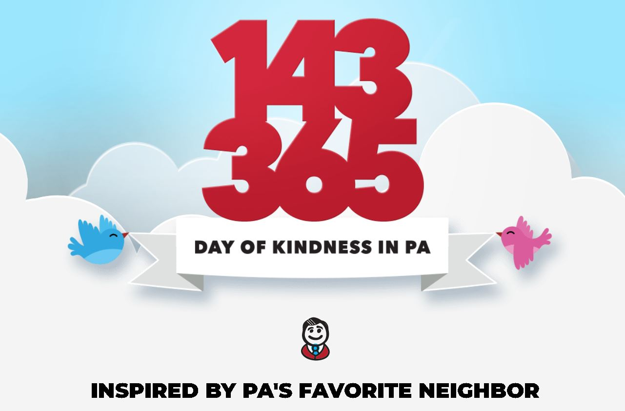 Gov. Wolf Announces 1-4-3 Day 2021: A Three-Day Weekend of Kindness