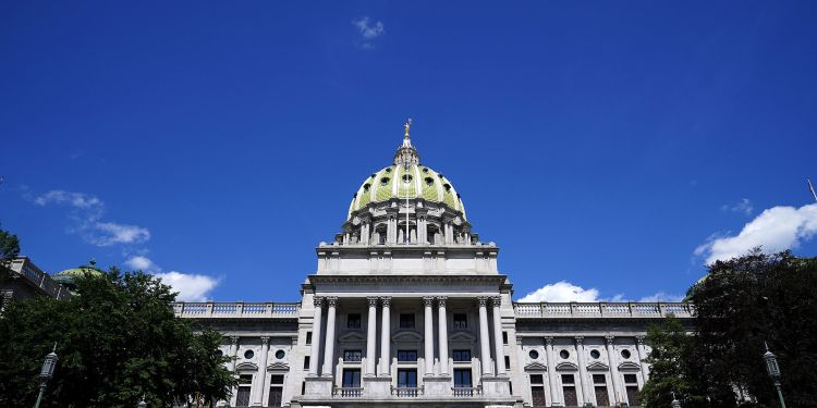 The state Senate and House together spend on average $50 million per year, not including generous salaries and benefits.  TIM TAI / Philadelphia Inquirer