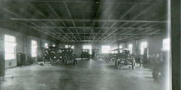 Dotts Motor Company, Filbert Street, Curwensville, c1922