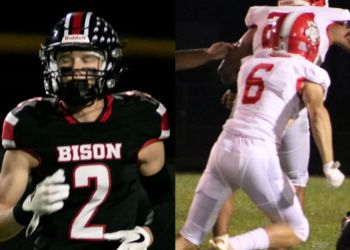Karson Kline (Left) and Ashton Kahle (right). Photo by D9and10Sports.