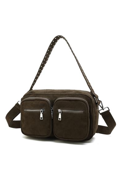 Køb Noella Taske Celia Crossover Bag Army Green Her! | Ganto