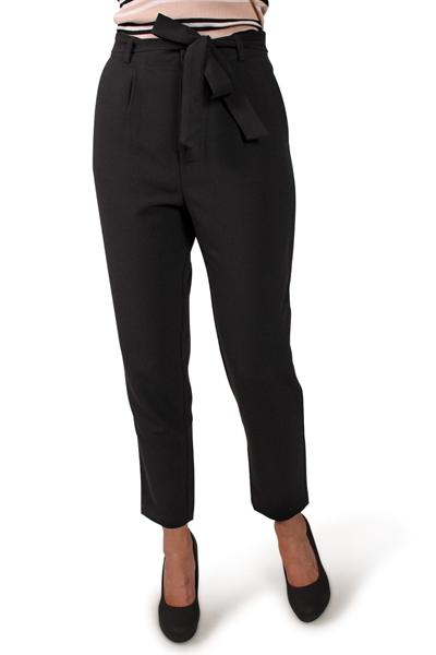 Køb Pieces Bukser PC Joy HW Pants Black Her! | Ganto