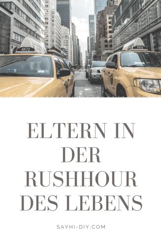 Eltern in der Rushhour des Lebens: Stress mit Erziehung, Eltern pflegen und Karriere - muss das sein?