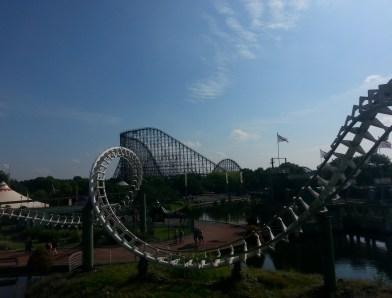 Heidepark Rollercoaster Coloss Familienurlaub