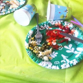 Kindergeburtstag, Nudelsalat