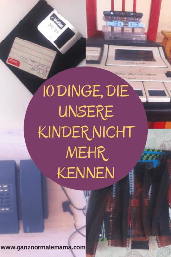 10 Dinge, die unsere Kinder nicht mehr kennen - von der diskette über die Fotonegative bis zur Telefonzelle - die Zeit vergeht! Lustiger Text, Kolumne mit lustigen Sprüchen