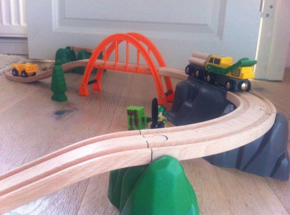 Brio, Eisenbahn