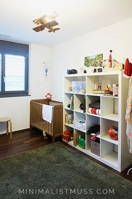 Minimalismus im kinderzimmer, Ordnung im Kinderzimmer