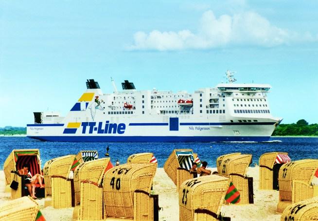 TT Line, Fähre, Schweden