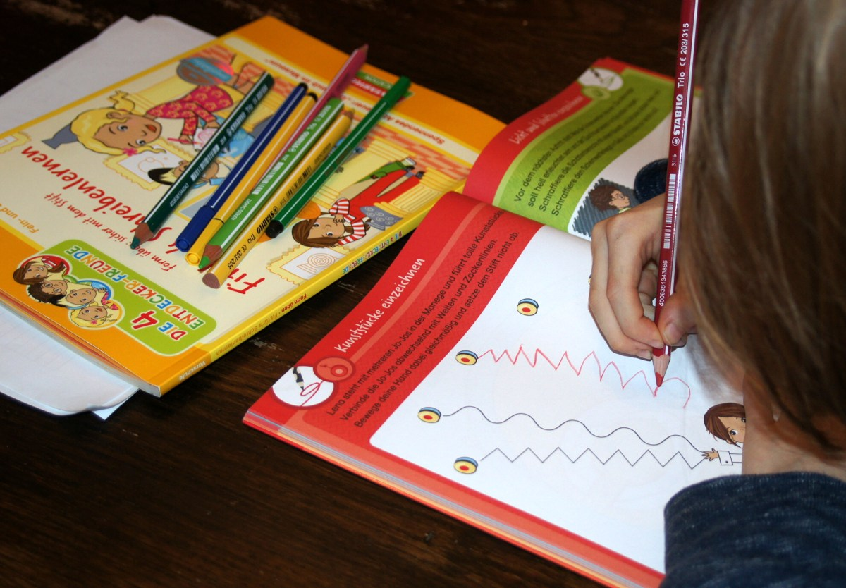 Fit fürs Schreibenlernen - Übungshefte von Stabilo