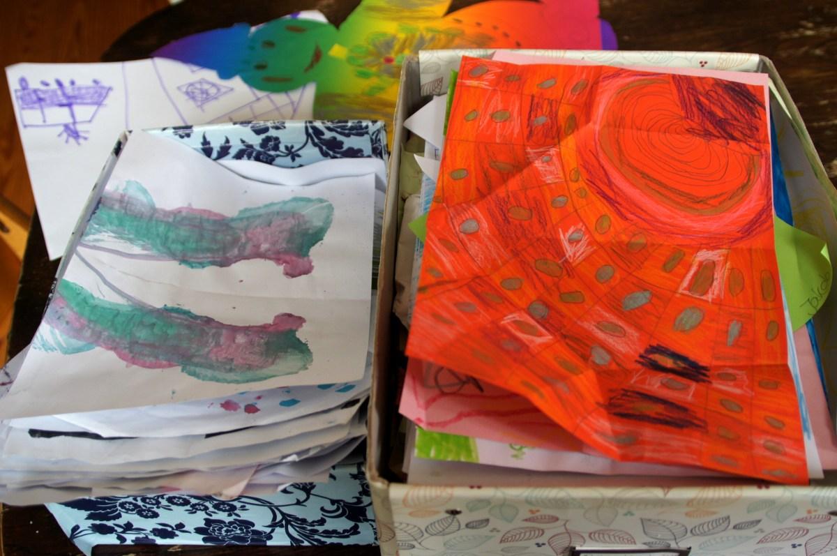 Kinderkunstwerke - es werden immer mehr