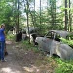 Autofriedhof Kyrkö Mosse in Smaland
