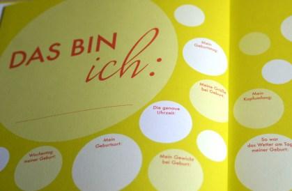 BAbygästebuch von Sonja Ratz. Ein besonderes Geschenk zur Geburt, von dem das Baby das gnaze Leben etwas hat.