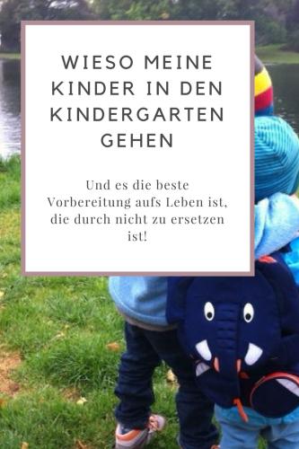 Plädoyer für den Kindergarten: Wieso es Kinder voranbringt, was Kinder dort für die Schule und das weitere Leben lernen und wieso Erzieherinnen eine großartige Arbeit leisten.