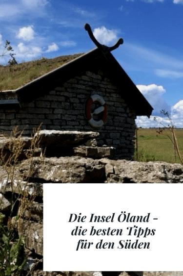 Reisetipp für die Insel Öland: Der Süden. Tippps für eine REise auf die Sonneninsel von Schweden, Sehenswürdigkeiten, Reiseroute, Landschaft und Natur.