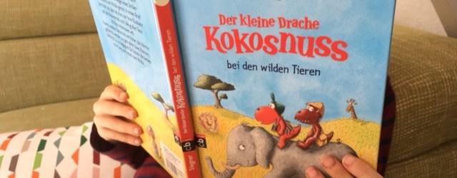 Der neue kleine Drachhe kokosnuss Band ist erschienen: In dem Kinderbuch geht es nach Afrika. Buch zum Vorlesen und für Erstleser