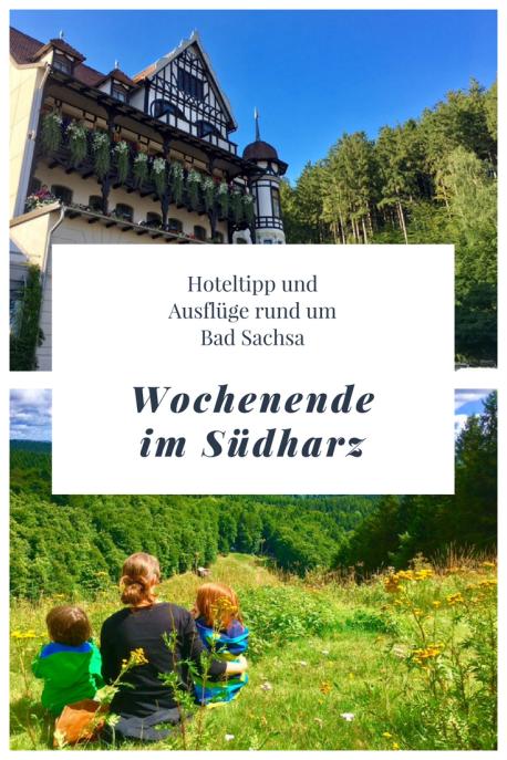 Reise in den Harz: Ausflüge und Hotel in Bad Sachsa, der Südharz, WAndern und Reisen mit Kindern,
