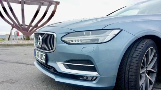 Der Volvo V90 im Test als Familienauto
