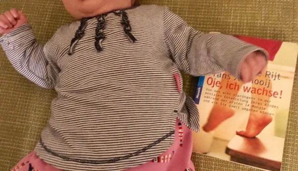 Wieso ich oje ich wachse nicht mehr lese - beim dritten Kind verzichte ich auf den Erziehungsratgeber für die Babyzeit. #baby #erziehung