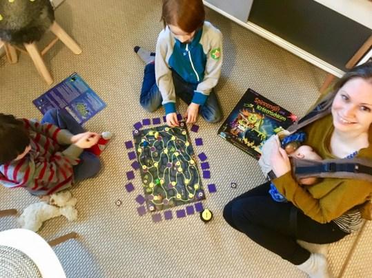 Spieletipp: Spinnengift und Krötenschleim. Gesellschaftsspiel ab 6 Jahren.